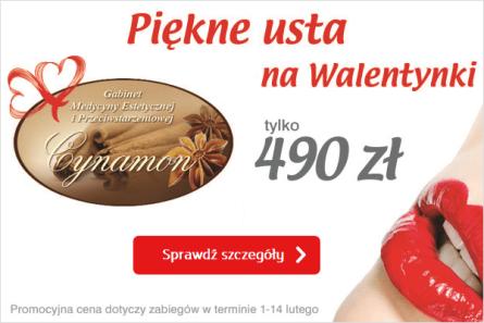 Powiększanie ust promocja Katowice